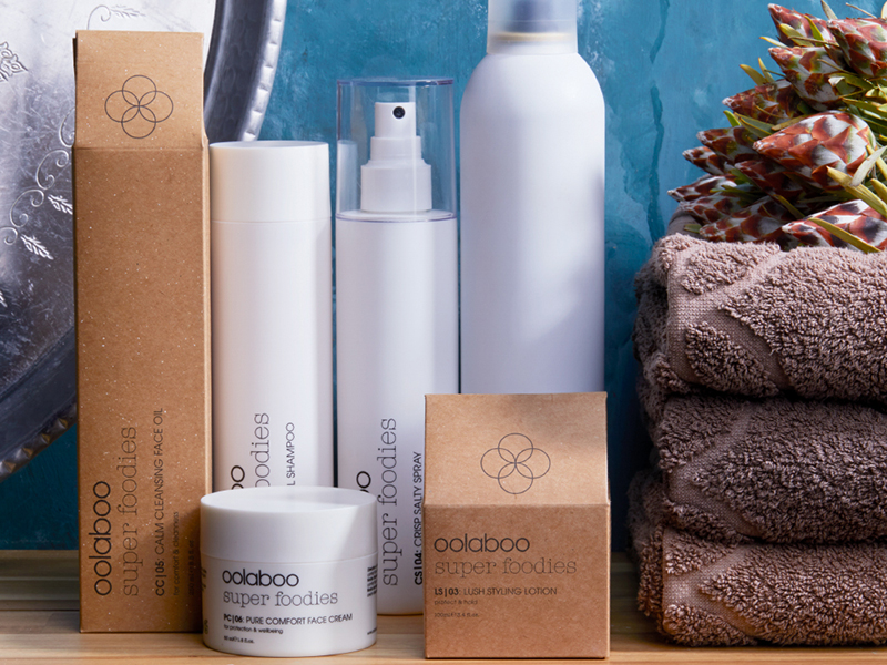 oolaboo | super foodies hair care